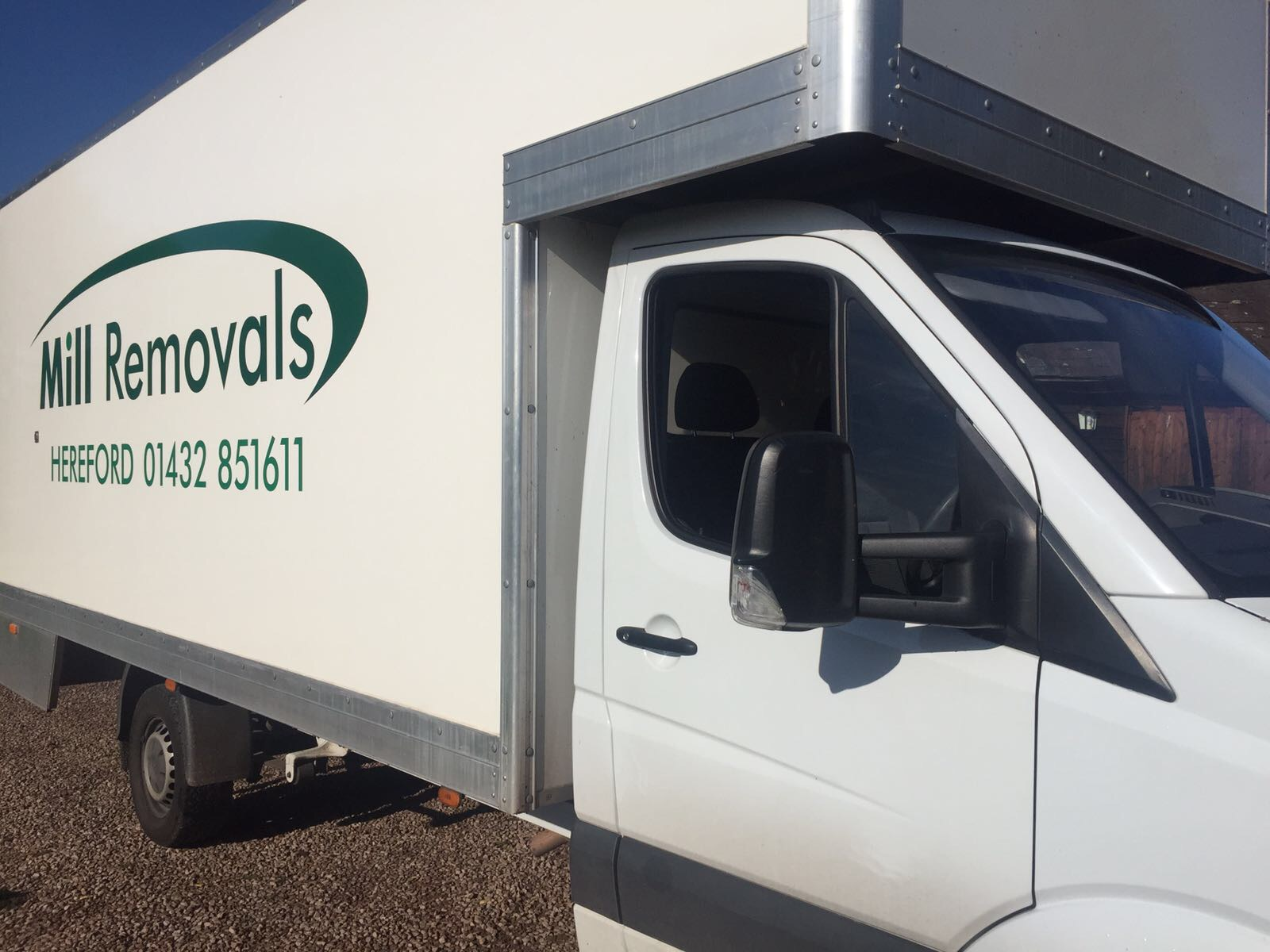 Mill Removals Hereford Vehicle Fleet